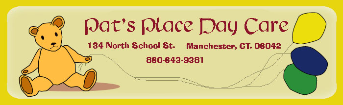 Pat's Place Day Care located at 134 North School Street, Manchester CT.